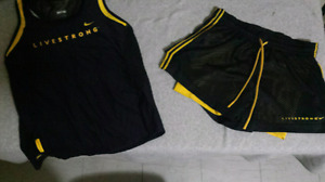 NIKE LIVESTRONG 3 PIECE OUTFIT