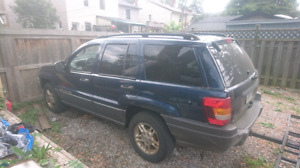 2002 Jeep Grand Cherokee MUST SELL