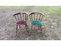 Two Vintage Arm Chairs - Heathrow area