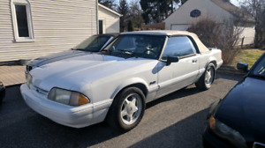 1991 Ford Mustang 5.0L Convertible Vortech Supercharged!