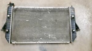 starter, alternator and radiator