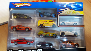 Group 51. Ten pack from 2007 Hot Wheels.