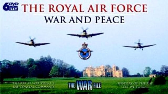 THE ROYAL AIR FORCE ~ BRAND NEW SEALED 6 DVD BOX SET ~ WAR AND PEACE