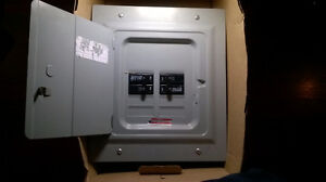 Electrical panel and some breakers