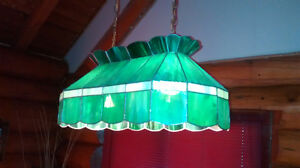 Handmade Vintage Tiffany Style Billiard/Pool Table Shade