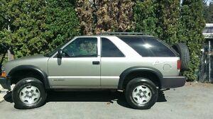 2003 Chevrolet Blazer SUV, Crossover, 4x4