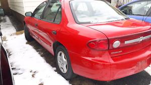 2003 4 door Chev. Cavalier