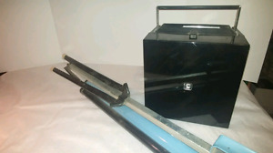 Slide projector , converter and folding  screen
