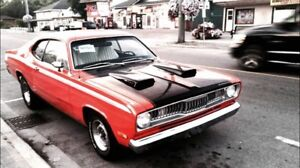 In search of blue 1972 duster