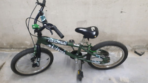 18 inch mountain bike for 5-8 year old