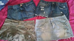 Mini skirt lot