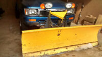 1993 Toyota Tacoma Pickup with Plow