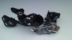 Near New Shimano Front and Rear Derailleurs - 10spd