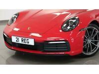 2021 Porsche 911 2021 21 Porsche 911 (992) 3.0 Targa 4 Auto Convertible Petrol A