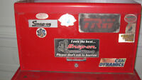 snap on top and bottom tool cabinet
