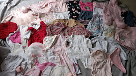 Huge baby girl newborn first size clothes bundle