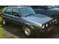 MK2 Golf 1.8 16v (Driver Converted) No Mot