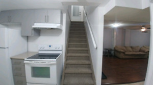 Newly Renovated, 2 B/R, Legal Basement Apartment