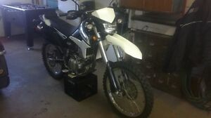 moto klx 250