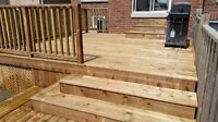 Deck and fence builder