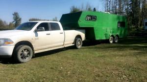 Fifth wheel john deer special trailer