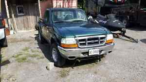 2000 ford ranger with plow. 4x4