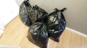 4 big bags of boys clothes from nb - 18 months