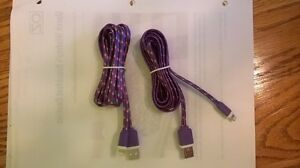 APPLE IPHONE 5-and Tablet -DATA CABLE ROPES