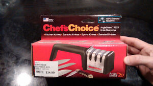 professional triple knife sharpener kit - BNIB