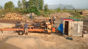 Portable sawmilling Services