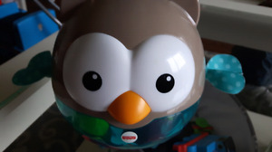 Owl chime toy