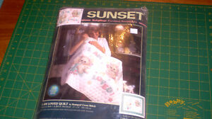 Stamped Cross Stitch Quilt by Sunset - I am Loved