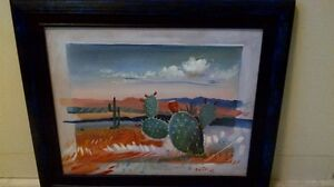 Framed Mexican Painting Kitchener / Waterloo Kitchener Area image 1