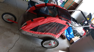 Lil Tykes Chariot Style Stroller / Bike Trailer