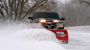 SNOW PLOWING LARGE LOTS TO SMALL DRIVEWAYS