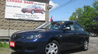 2006 MAZDA3 , 5SP MANUAL,AC, CLEAN, 6M.WRTY+SAFETY for 4995