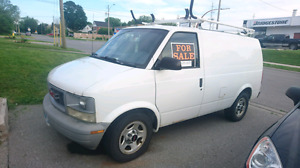 2004 gmc safari work van