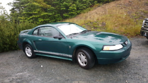 2000 Ford mustang 3.8 liter for sale low klms