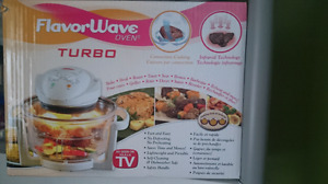 Flavour Wave oven turbo neuf/brand new