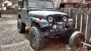 1979 Jeep CJ VUS