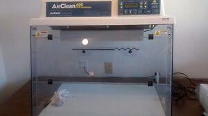 Vertical Laminar Flow Ductless PCR Workstation