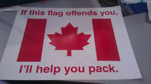 Canadian Proud Tailgate & Bumper Stickers
