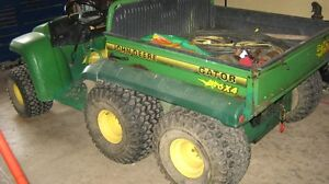 JOHN DEERE GATOR FOR SALE OR TRADE FOR CONTAINERS