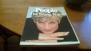 Vintage,Commemorative Edition,People Magazine,The Diana Years