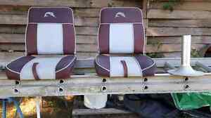 Boat seats and stand