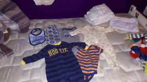 Baby boy clothes newborn and 0-3m