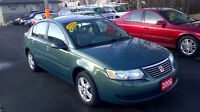 2006 Saturn ION LEVEL 2 only $ 3450 / CERTIFIED
