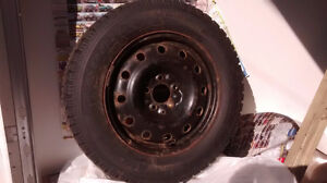 Goodyear Nordic Winter Tires and Steel Rims