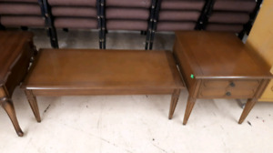 Coffee table n end table $20