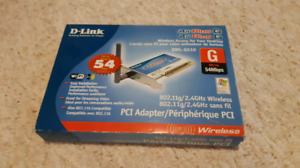 D-link desktop computer wifi card pci